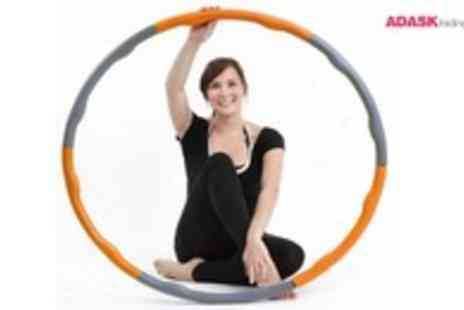 Adask Trading - Weighted Hula Hoop - Save 49%