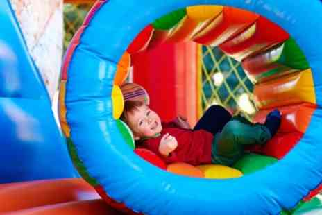 Tubby Bears Play Zone - Soft Play Entry for Two or Four Children - Save 43%