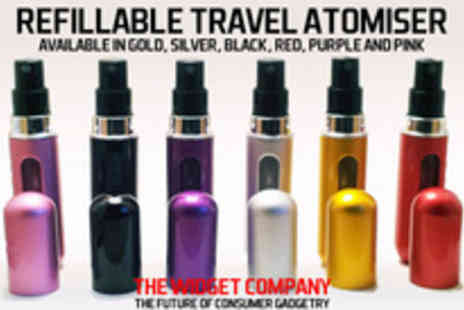 The Widget Company - Travel light and smell great with a travel atomiser - Save 65%