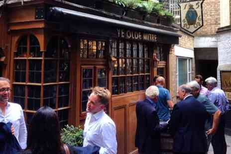 London top sight tours - Drink beer in Londons oldest pubs - Save 0%