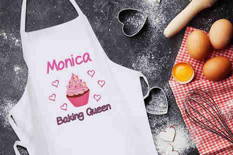 Deco Matters - Personalised baking apron - Save 64%