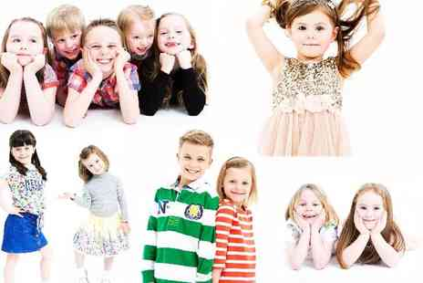 The Model Experience - Kids photoshoot from The Model Experience - Save 95%