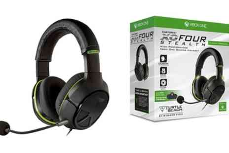 Groupon Goods Global GmbH - Turtle Beach Earforce XO Four Stealth 2.0 Gaming Headset For Xbox One - Save 0%