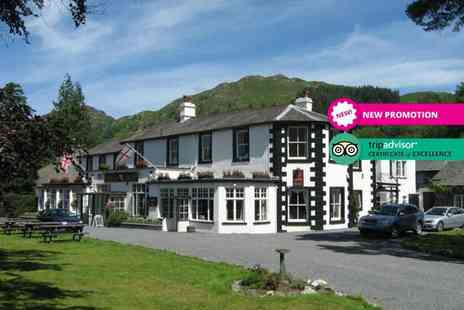 Scafell Hotel - Two night stay for two people with breakfast, one three course dinner each, glass of sparkling wine and porter service - Save 31%