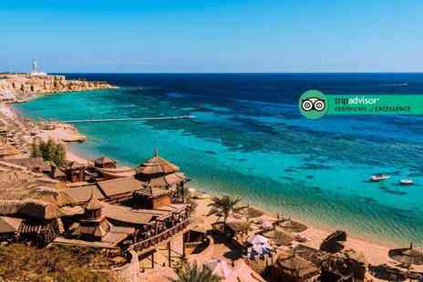 Via Holiday - Seven night 5 Star all inclusive Sharm El Sheikh stay with flights – save up to 31% - Save 31%