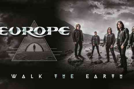 AEG Presents - One ticket to see Europe on 14 To 24 September - Save 50%