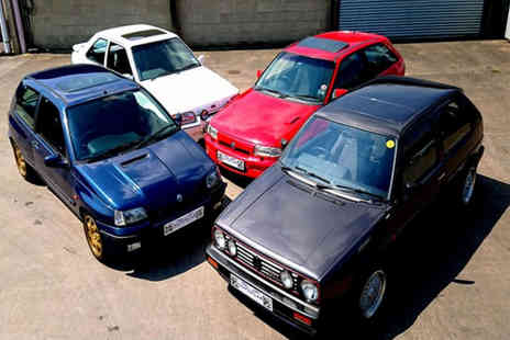 Buyagift - Four car 80s hot hatch legends driving experience - Save 0%