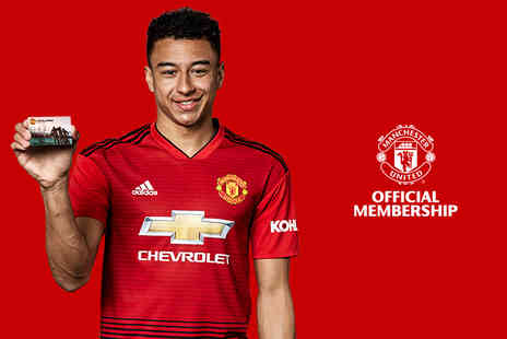 Manchester United Football Club - Official Manchester United childs or adults membership - Save 25%