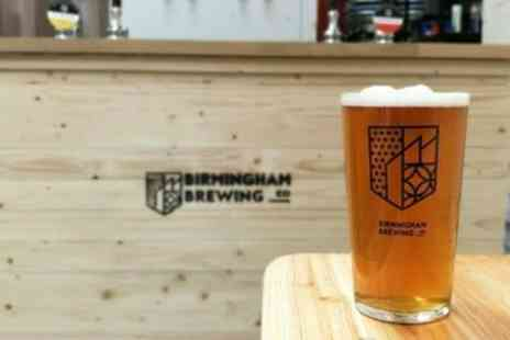 Birmingham Brewing Company - Brewery Tour and Beer Tasting for Up to Four - Save 38%