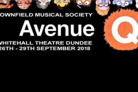Downfield Musical Society - Two stall tickets to Avenue Q on 26 or 27 September - Save 50%