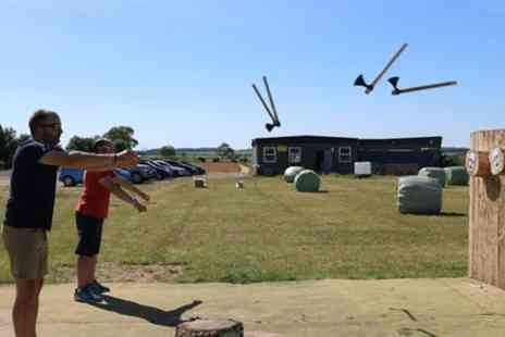 Blyth Activity Centre - Axe and Knife Throwing - Save 0%