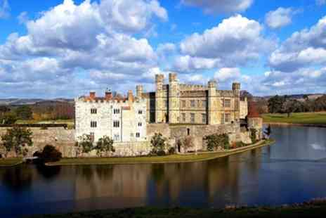 Premium Tours - Leeds Castle, Canterbury, Dover and Greenwich with Private Tour of Leeds Castle and Cruise - Save 50%