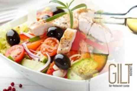 Gilt London - Modern British Cuisine Two Courses For Two With Drinks - Save 60%