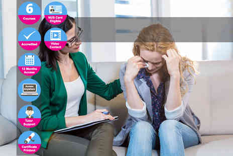 Kew Training Academy - Online bereavement and counselling course bundle - Save 85%