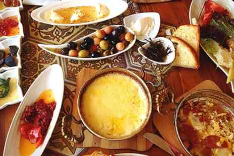 Lazz Lounge - Turkish Meze with Wine for Two, Four or Six - Save 44%