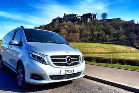 Aura Journeys Central Scotland - Stirling to Glasgow Luxury Private Transfer - Save 0%