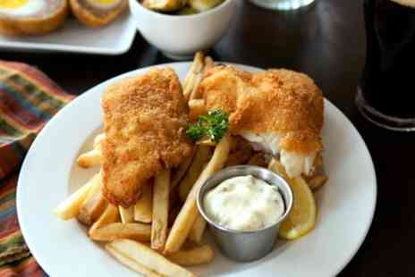 The Ship Wolviston - Fish and Chips for Two or Four - Save 50%