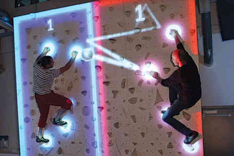 The Event Corporation - 30 minute augmented climbing wall experience for four people - Save 51%