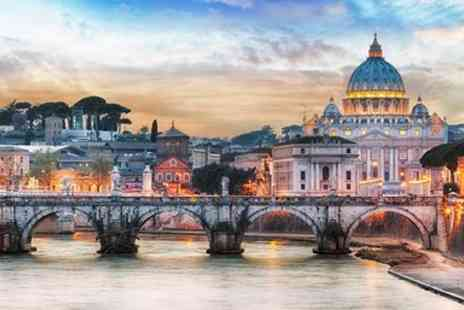 Hays Travel - Three night 4 star Rome city break with flights - Save 0%