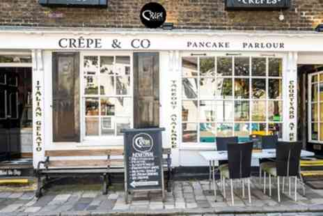 Crepe & Co - Crepe or Waffle with Hot Drink for Two or Four - Save 48%