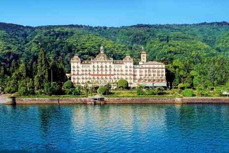 Grand Hotel Des Iles Borromees - Five Star Luxury Lakeside Spa Hotel Stay For Two - Save 77%