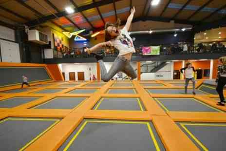Air Vault - One Hour Trampoline Park Access for Up to Four - Save 33%