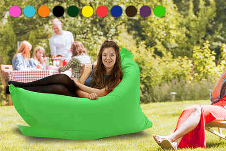 UK Beanbags - Large indoor and outdoor big brother beanbag choose from 11 colours - Save 75%