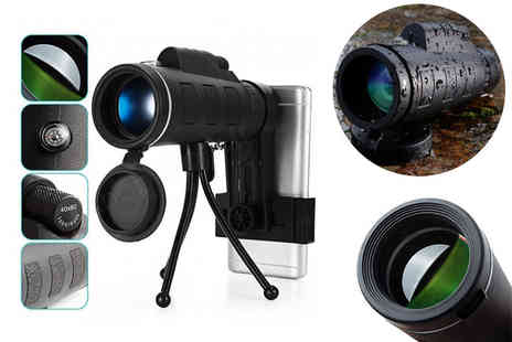 Shop Story - Long distance monocular military telescope - Save 79%