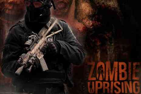 Zombie Uprising - One or two to Zombie Uprising Event on 22 September To 17 November - Save 22%