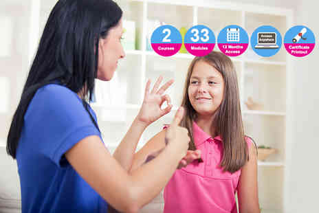 Vizual Coaching - Teaching assistant and sign language course bundle - Save 96%