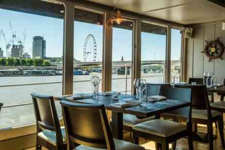 The Yacht London - Two Course Lunch with Prosecco for One or Two - Save 62%