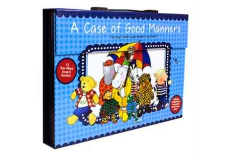 Groupon Goods Global GmbH - Case of Good Manners 12 Piece Board Book Set - Save 33%