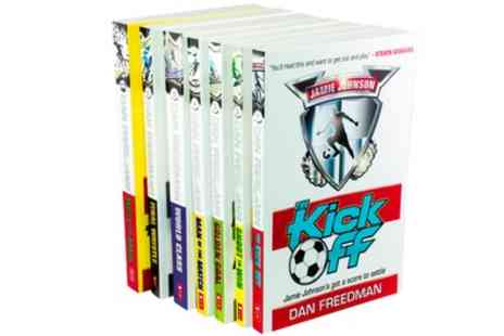 Groupon Goods Global GmbH - Jamie Johnson Football Series Seven Book Collection - Save 68%