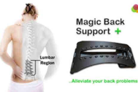 Adask Trading - Relieve Your Back Pain and Stiffness with the Archie Magic Back Support Plus - Save 49%