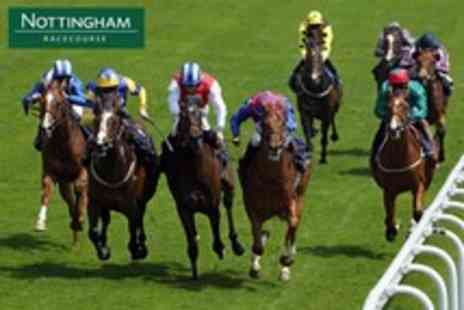 Nottingham Racecourse - Grandstand Enclosure Ticket to Ladies Day - Save 60%