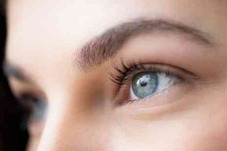 Brilliance Beauty Salon - Eyebrow Tint and Wax with Eyelash Tint - Save 39%