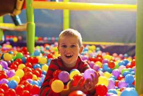 Whale of a Time - Soft Play Area Entry for Up to Three Children - Save 41%