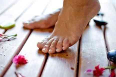 Perfect Feet Spa & Beauty - Spa Package Including Back Massage, Facial and Fish Pedicure - Save 72%