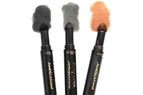 Groupon Goods Global GmbH - Set of Three LOreal Super Liner Smokissime Eyeliners - Save 0%