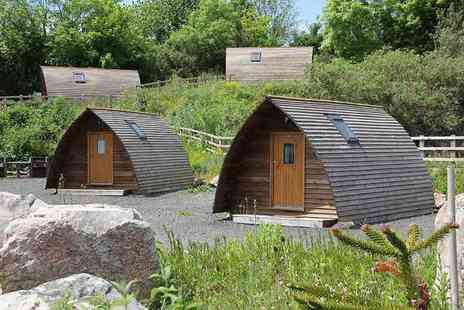 The National Diving & Activity Centre - Glamping break for up to five people in a standard wigwam - Save 50%