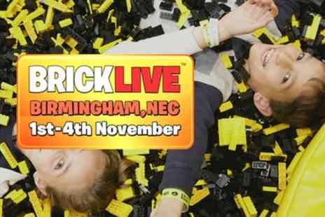 Multiplay Events - One general admission day or family ticket to BrickLive on 1 To 4 November - Save 25%