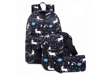 HXT Goods - Magical Unicorn Backpack in 1 or 3 Piece - Save 84%