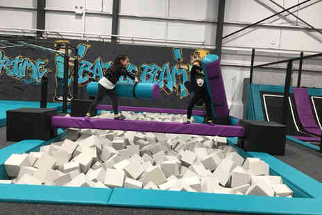 Airtime Halifax - One hour open bounce session for one - Save 50%