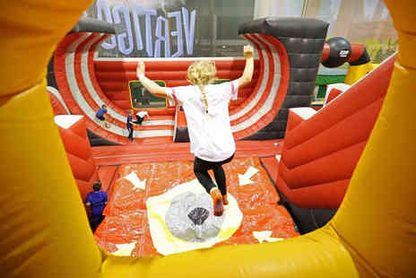 Greenwich Leisure - One hour giant inflatable jump session for two people - Save 33%