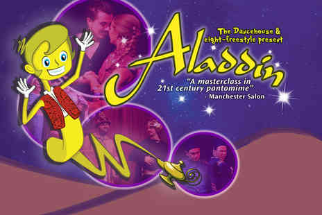 The Dancehouse Theatre - Ticket to the Aladdin panto - Save 49%