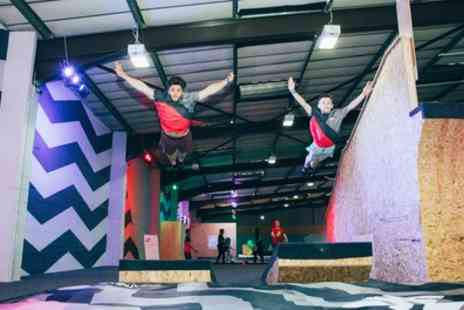 Jump Inc - One Hour Trampoline Session for Up to Four - Save 34%