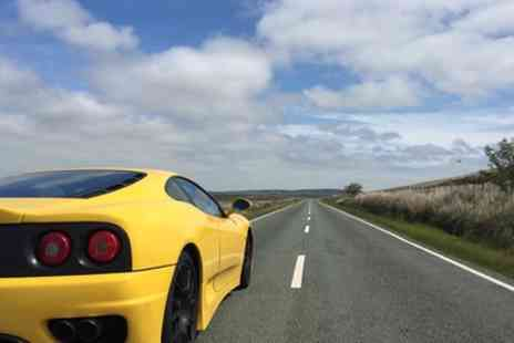 Golden Moments - 20 or 45 Minute Ferrari 360 F1 Motorway Driving Experience - Save 60%