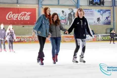 National Ice Centre - Group Ice Skating Session for Three or Four - Save 62%