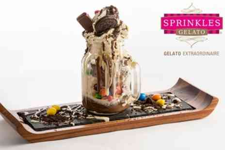 Sprinkles Gelato - Two or Four Desserts in a Jar - Save 33%