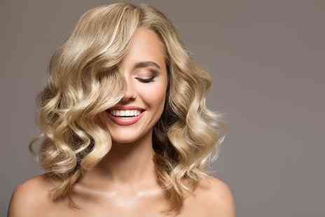 City Hairdressers - Full head of balayage highlights with a cut and blow dry - Save 68%
